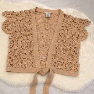 🆕 Old Navy | Crocheted Cropped Shrug